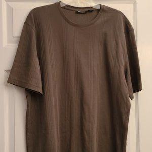 3/$25 Claiborne Brown Short Sleeve Shirt XXL